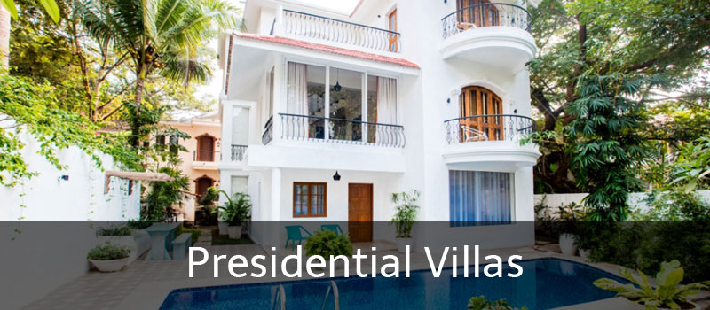 Presidential Holiday Villas in Goa