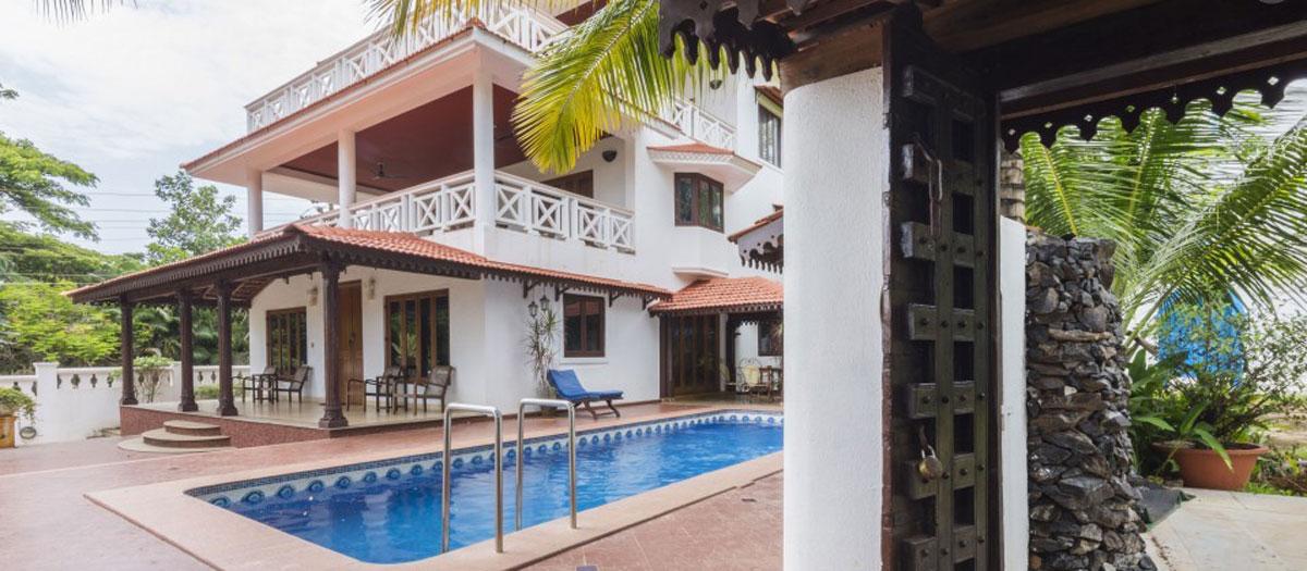 Three Bedroom Premium Holiday Villas In Goa Aguada